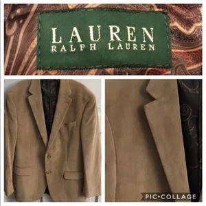 LAUREN Ralph Lauren Brown Corduroy Blazer Sz 40R